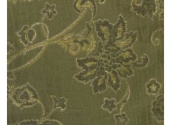 Ткань Сиеста зеленая 250А
