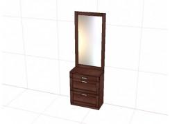 """Тумба с зеркалом """"Карина"""" КР-1838"""