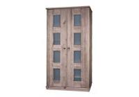 Шкаф 2-х дверный БМ-2122 BRU