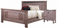 Кровать двуспальная (2000*1800) (б/о) БМ-2120-01 BRU