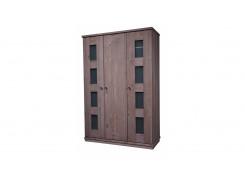 Шкаф 3-х дверный БМ-2121 BRU