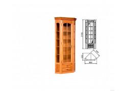 """Шкаф с витриной """"Элбург"""" БМ-1394"""
