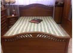 """Кровать """"Розмари 012.02"""" с ящиками для белья"""