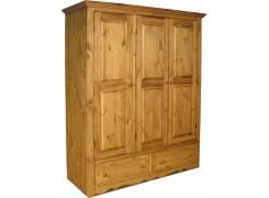 Шкаф для одежды ARMOIR 3 двери,2 ящика