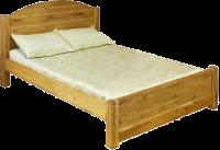 Кровать LIT  MEX  с низким изножьем