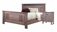 Кровать двуспальная (2000*1800) (б/о) БМ-2120