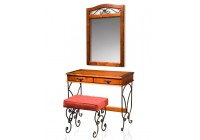 Стол туалетный с зеркалом «Глория-8»