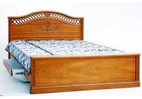 """2 Кровать """"Розмари 012.02-1"""" с ящиками для белья и резьбой(1600х2000)"""