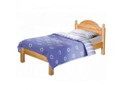 Кровать Б-1089 с низской спинкой (90)